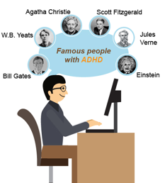 famous ADHD personalities