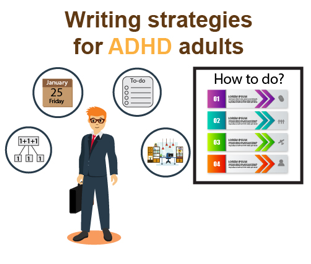 writing strategies for ADHD adults