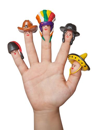 Fingers unequal